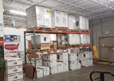 Large Amount of Inventory