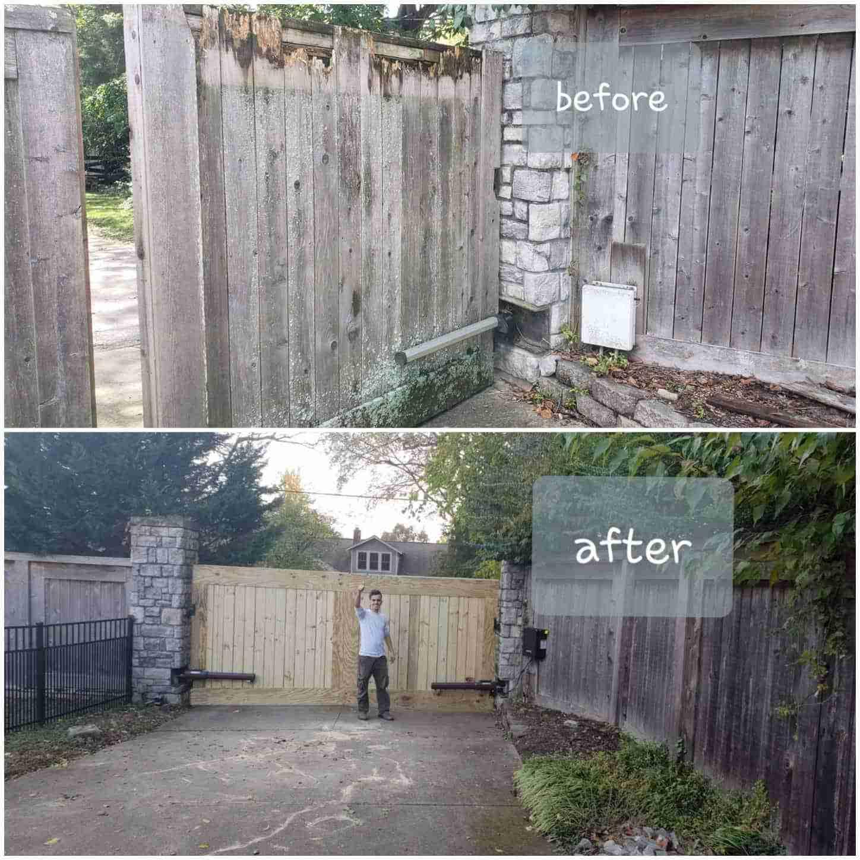 Wooden Gate Repair