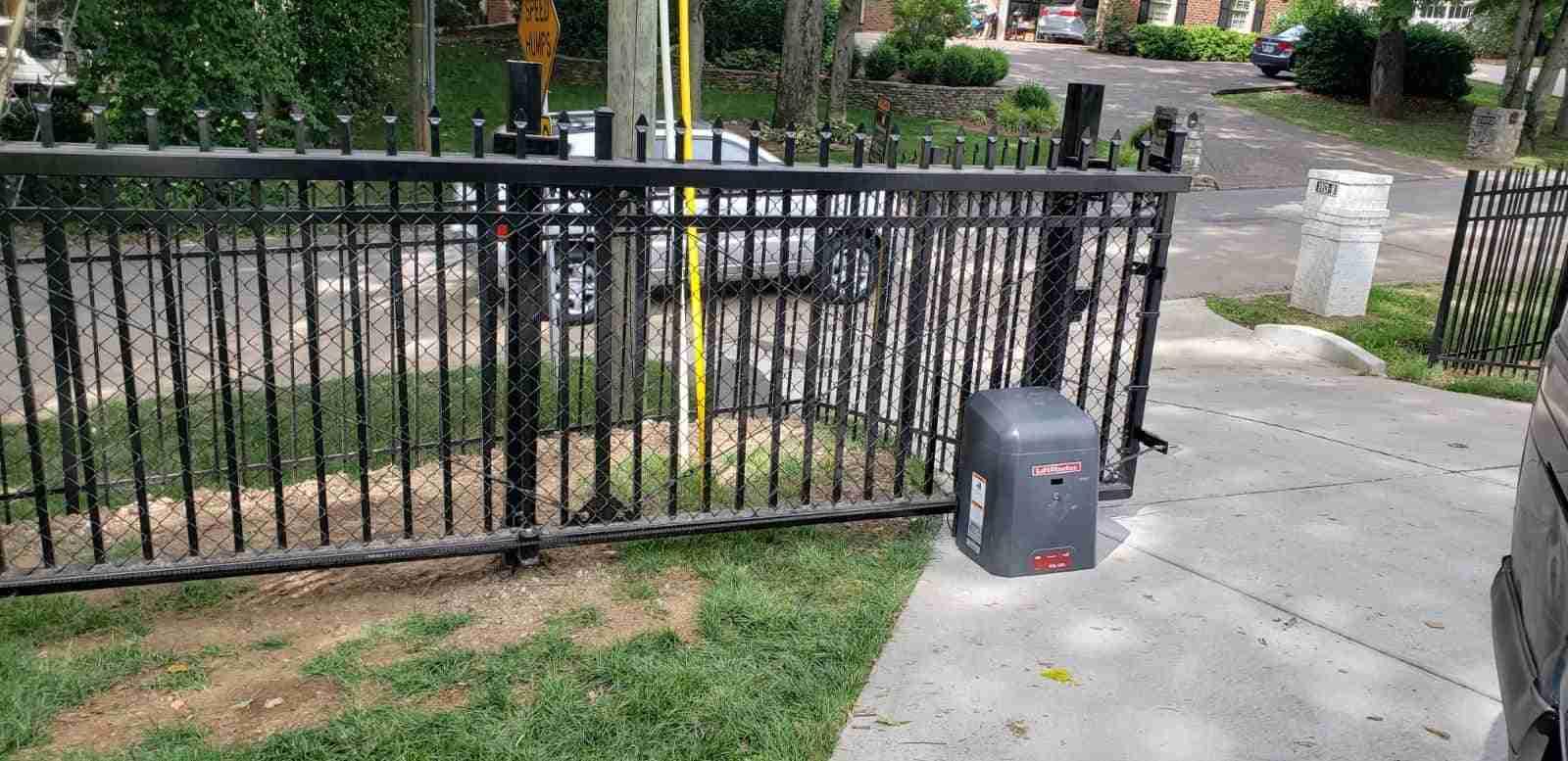 driveway sliding gate openers