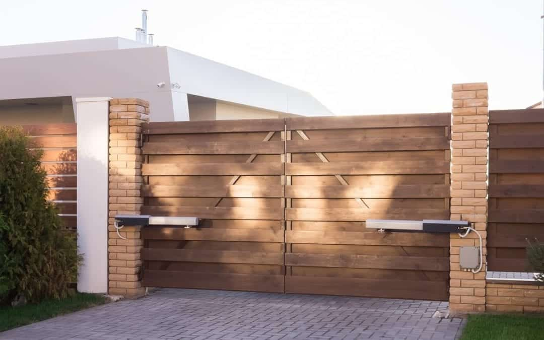 New Driveway Gate System