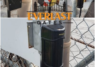 installation of gate access control systems